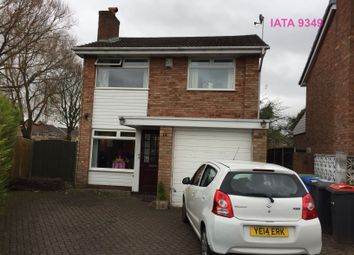 Thumbnail 3 bed detached house to rent in Mapplewell Crescent, Great Sankey, Warrington
