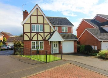 Thumbnail 4 bed detached house for sale in Hill Rise, Measham, Derbyshire