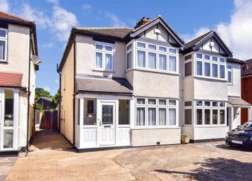 3 bed semi-detached house for sale in Brentwood Road, Romford, Essex RM1