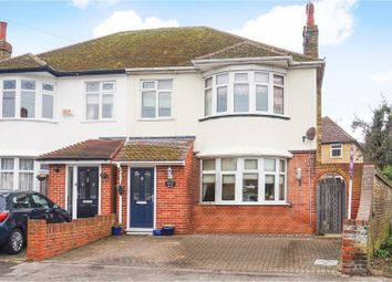 Thumbnail 3 bed semi-detached house for sale in Saxon Road, Westgate-On-Sea