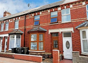 Thumbnail 3 bed terraced house to rent in Bassett Street, Canton, Cardiff