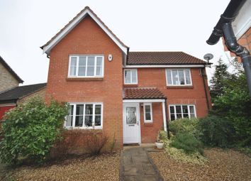 Thumbnail 4 bed detached house for sale in Vane Close, Dussindale, Norwich
