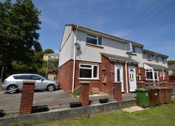 Thumbnail 2 bed end terrace house for sale in Finch Close, Plymouth, Devon