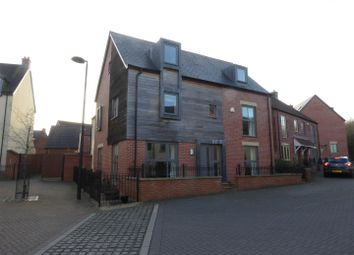 Thumbnail 5 bed detached house for sale in St. Johns Walk, Lawley Village, Telford