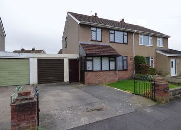 Thumbnail 3 bed semi-detached house for sale in Ryecroft Avenue, Worle, Weston-Super-Mare