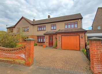 Thumbnail 4 bed semi-detached house for sale in Cozens Road, Ware