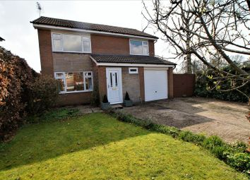 Thumbnail 4 bed detached house for sale in Danefield Road, Holmes Chapel, Crewe
