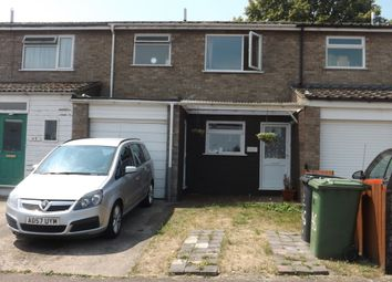 Thumbnail 3 bed terraced house to rent in Glebe Close, Thetford
