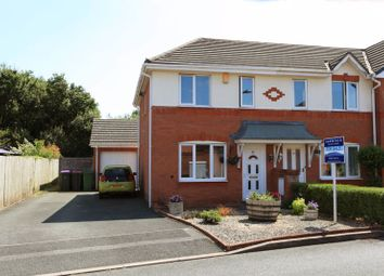 Thumbnail 2 bed semi-detached house for sale in Lidgates Green, Wellington, Telford