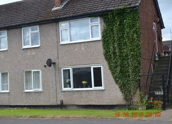 Thumbnail 2 bed flat for sale in Sharps Close Kirk Hallam, Ilkeston, Ilkeston