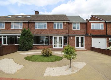 Thumbnail 4 bed semi-detached house for sale in Eddleston Avenue, Gosforth, Newcastle Upon Tyne