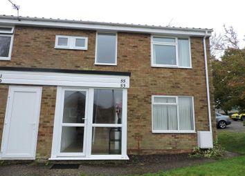 Thumbnail 1 bedroom flat to rent in Foxglove Avenue, Needham Market, Ipswich