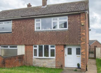 Thumbnail 3 bed semi-detached house for sale in Rokesley Road, Dover