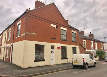 Thumbnail 3 bedroom end terrace house for sale in Shaftesbury Road, Leicester