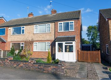 Thumbnail 3 bed semi-detached house for sale in Cumberwell Drive, Leicester