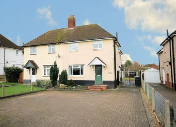 Thumbnail 3 bed semi-detached house for sale in Burton Road, Elford