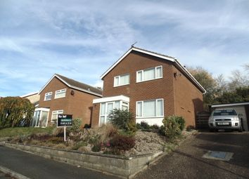 Thumbnail 4 bed detached house to rent in Clovelly Drive, Norwich