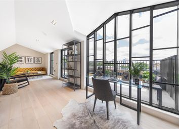 Thumbnail 3 bed flat for sale in Cabul Road, London