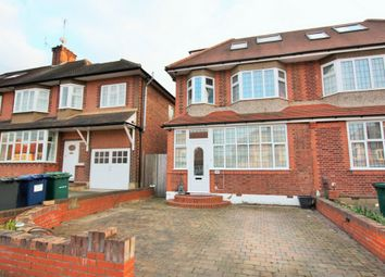 Thumbnail 4 bed semi-detached house for sale in Chanctonbury Way, Woodside Park