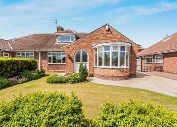 Thumbnail 3 bed semi-detached bungalow for sale in Claremont Drive, Hartlepool