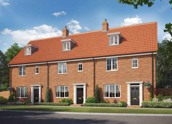 Thumbnail 3 bed terraced house for sale in The, Oakley Park, Mulbarton, Norfolk