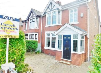 Thumbnail 4 bed property to rent in Lilac Avenue, Penwortham, Preston
