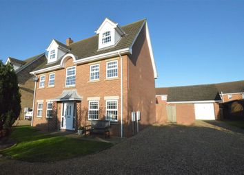 Thumbnail 5 bed detached house to rent in Bristow Road, Cranwell Village, Sleaford