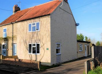 Thumbnail 3 bed semi-detached house for sale in Station Road, Ten Mile Bank, Downham Market