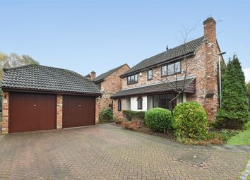 Thumbnail 4 bed detached house for sale in Fern Close, Crowthorne, Berkshire