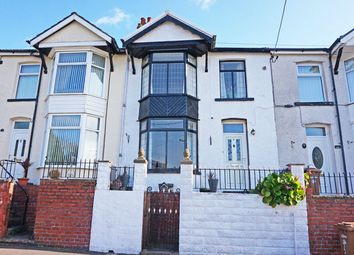 Thumbnail 4 bed terraced house for sale in Beech Embankment, Ystrad Mynach