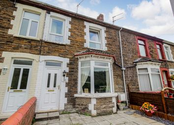Thumbnail 3 bed terraced house for sale in Pontgam Terrace, Ynysddu, Newport