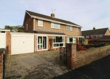 Thumbnail 3 bed semi-detached house for sale in Thornhill Road, Ponteland, Newcastle Upon Tyne, Northumberland