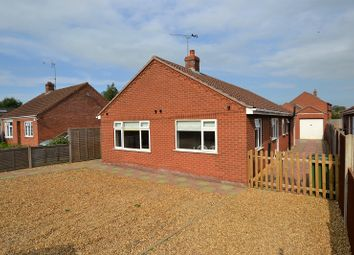 Thumbnail 3 bed bungalow for sale in Kenwood Road, Heacham, Kings Lynn, Norfolk.