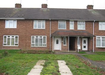 Thumbnail 3 bed terraced house for sale in Woodstock Road, Wolverhampton