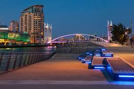 Thumbnail 1 bedroom flat for sale in Salford, Fortis Quay, Manchester