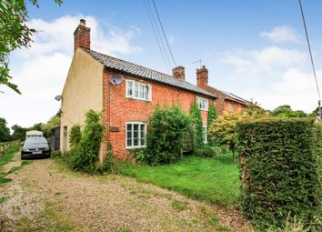 Thumbnail 4 bed cottage for sale in Seething Street, Seething, Norwich