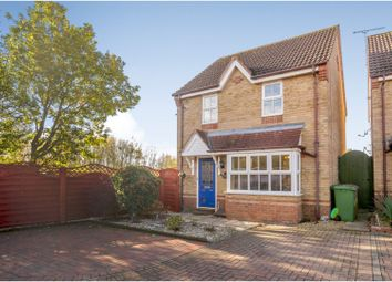 Thumbnail 3 bed detached house for sale in Hemington Close, King's Lynn