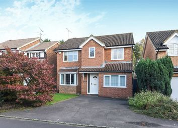 Thumbnail 4 bed detached house for sale in Merryweather Close, Wokingham, Berkshire