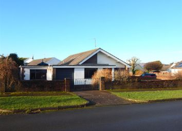 Thumbnail 3 bed detached bungalow for sale in Heatherslade Road, Southgate, Swansea