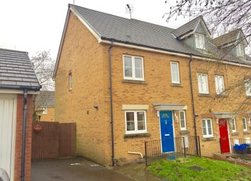 Thumbnail 3 bed end terrace house to rent in Swallow Close, North Cornelly, Bridgend