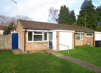 Thumbnail 1 bed semi-detached bungalow for sale in Charlecote Close, Tiddington, Stratford-Upon-Avon