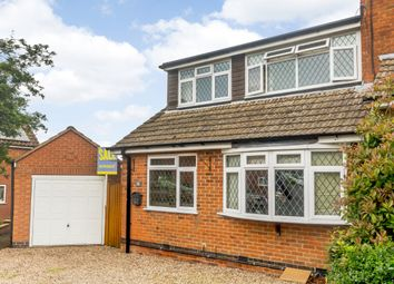Thumbnail 4 bed semi-detached house for sale in Croft Gardens, Old Dalby, Melton Mowbray