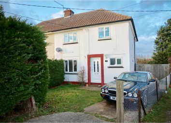 Thumbnail 3 bed semi-detached house for sale in Ardley Crescent, Bishop's Stortford
