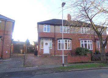 Thumbnail 3 bed semi-detached house to rent in Brinkburn Avenue, Darlington