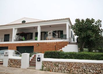 Thumbnail 3 bed villa for sale in Cala Canutells, Mahon, Balearic Islands, Spain