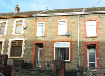 Thumbnail 4 bed terraced house for sale in Cwmaman Road, Godreaman, Aberdare
