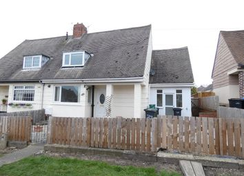 Thumbnail 2 bed semi-detached house to rent in Oakridge Road, Ushaw Moor, Durham