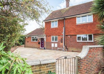 Thumbnail 3 bed semi-detached house for sale in Turketel Road, Folkestone