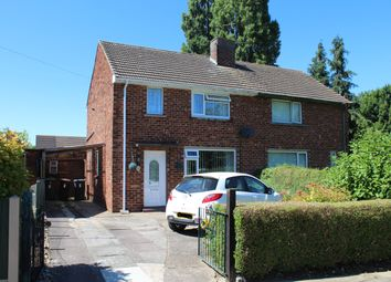 Thumbnail 2 bed semi-detached house for sale in Burwell Close, Lincoln
