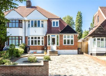 Thumbnail 4 bedroom semi-detached house for sale in Eversley Road, London